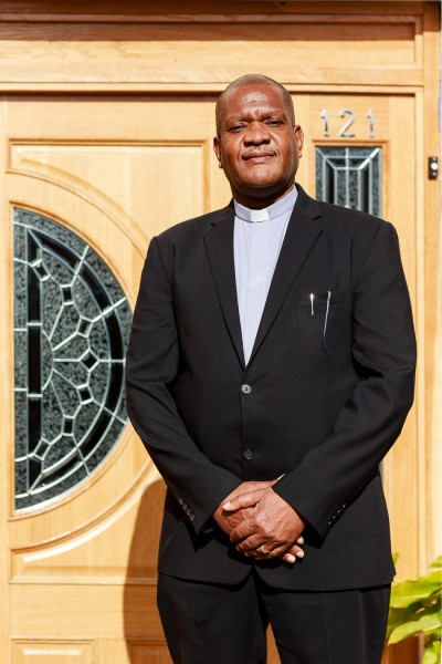 Pastor Bervin Headman of Penge Baptist Church